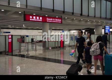 Hong Kong International Airport Check Lap Kok. Jayne Russell/Alamy Stock Photo - Stock Photo