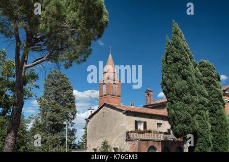 Gallo (Bologna, Italy), little old village along the via Emilia between Bologna and Imola - Stock Photo