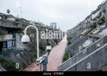 Alexandra & Ainsworth Estate, London - Stock Photo