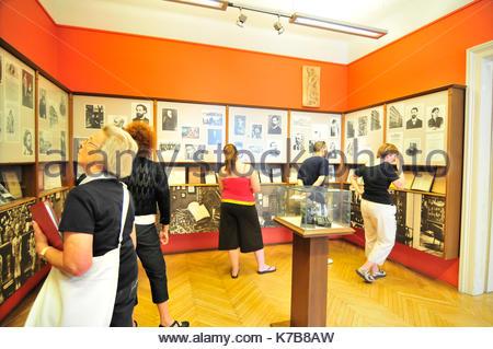 sigmund freud museum, vienna, austria - Stock Photo