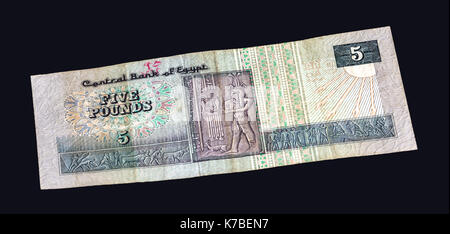 Egyptian pounds - national currency of Egypt. - Stock Photo
