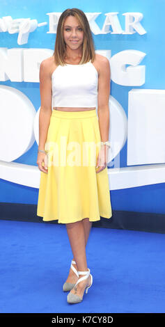 Photo Must Be Credited ©Alpha Press 080001 10/07/2016 Michelle Heaton  Finding Dory Premiere at Odeon Leicester - Stock Photo