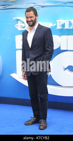 Photo Must Be Credited ©Alpha Press 080001 10/07/2016 Dominic West Finding Dory Premiere at Odeon Leicester Square - Stock Photo