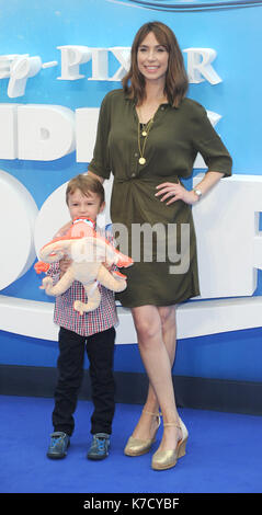 Photo Must Be Credited ©Alpha Press 080001 10/07/2016 Alex Jones Finding Dory Premiere at Odeon Leicester Square - Stock Photo
