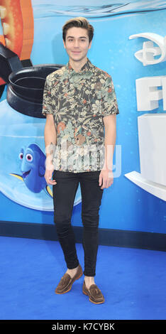 Photo Must Be Credited ©Alpha Press 080001 10/07/2016 George Shelley Finding Dory Premiere at Odeon Leicester Square - Stock Photo