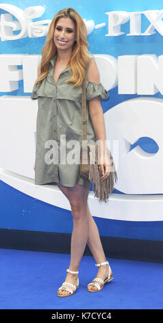 Photo Must Be Credited ©Alpha Press 080001 10/07/2016 Stacey Solomon  Finding Dory Premiere at Odeon Leicester Square - Stock Photo