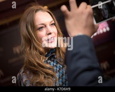Photo Must Be Credited ©Alpha Press 065630 08/04/2016 Lindsay Lohan at The 6th Annual Asian Awards 2016 held at - Stock Photo