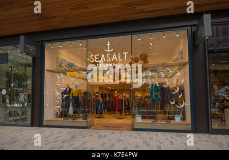 Seasalt Cornwall retail store in Bracknell town centre. Berkshire, UK. - Stock Photo
