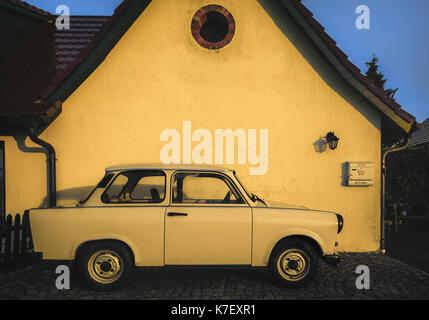 Trabant, trabi car. - Stock Photo