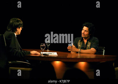 Chayanne Being Interviewed By Jaime Bayly On His Program On Mega Tv Stock Photo Alamy Spending too much time in soccer games at school, his low academic performance forced his mother to send him to 'la prensa' newspaper in order to get more. alamy