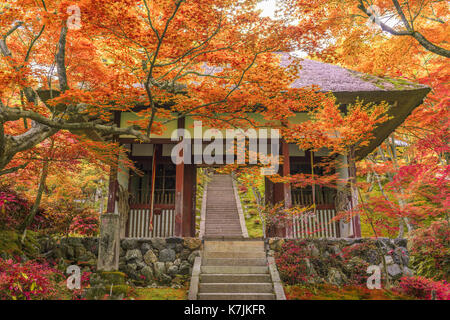 Kyoto, Japan at Jojakko Temple. - Stock Photo