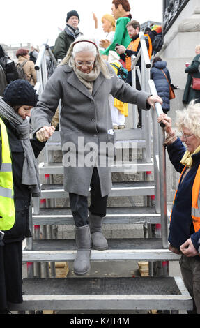 Photo Must Be Credited ©Kate Green/Alpha Press 079965 27/02/2016 Vanessa Redgrave at the CND Campaign for Nuclear - Stock Photo