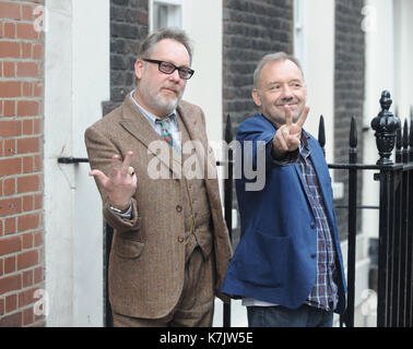 Photo Must Be Credited ©Kate Green/Alpha Press 079965 13/01/2016 Vic Reeves & Bob Mortimer at 25 Years Of Reeves - Stock Photo