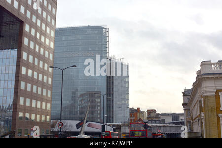 Photo Must Be Credited ©Alpha Press 066465 23/01/2016 News UK Business Offices in the News Building at 1 London - Stock Photo