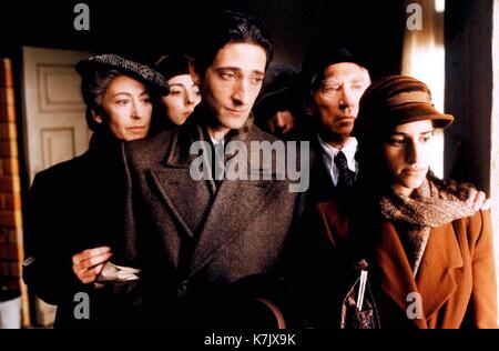 Photo Must Be Credited ©Alpha Press 070000 (2002)  Maureen Lipman, Julia Rayner, Adrien Brody, Ed Stoppard, Frank - Stock Photo