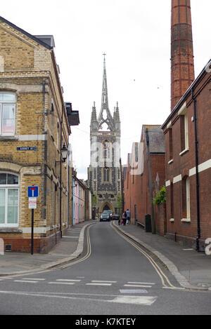 Mary of Charity church, Faversham, Kent - Stock Photo