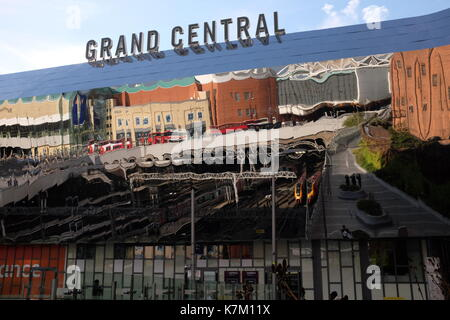 Grand Central at New Street Station, Birmingham - Stock Photo