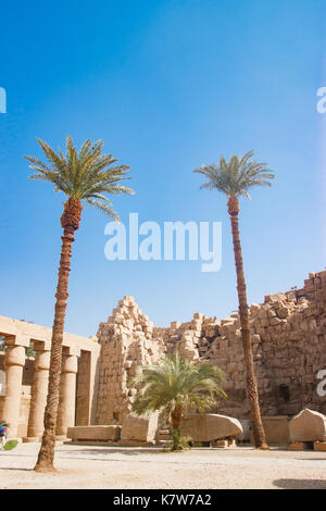 The temple in Luxor, Egypt - Stock Photo