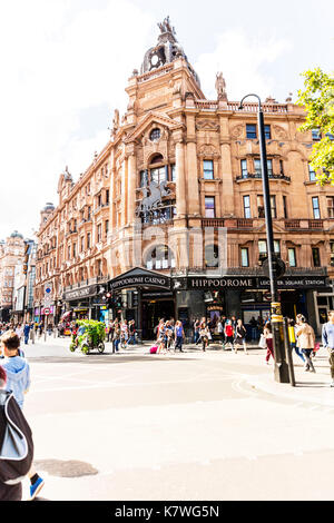 Hippodrome Casino London, Hippodrome Casino, Cranbourn Street, Leicester Square, London WC2H, United Kingdom, Hippodrome - Stock Photo