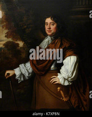 John Graham of Claverhouse, 1st Viscount Dundee, 'Bonnie Dundee' by Peter Lely - Stock Photo