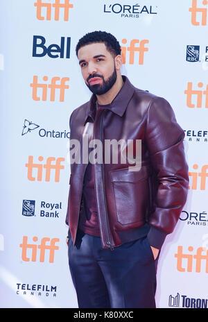 Toronto, Ontario, USA. 9th Sep, 2017. 09 September 2017 - Toronto, Ontario Canada - Drake. 2017 Toronto International - Stock Photo