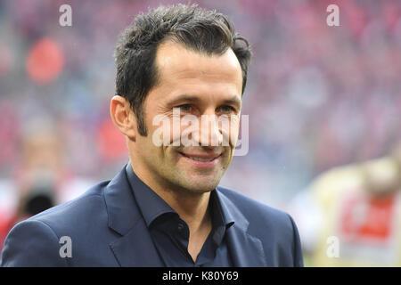 Muenchen, Deutschland. 16th Sep, 2017. Hasan SALIHAMIDZIC (Sportdirektor FC Bayern Munich), Einzelbild, angeschnittenes - Stock Photo
