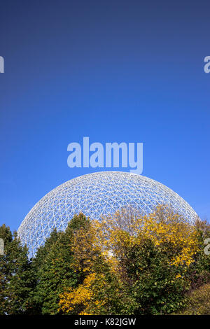 The Biosphere is a museum in Montreal dedicated to the environment. - Stock Photo