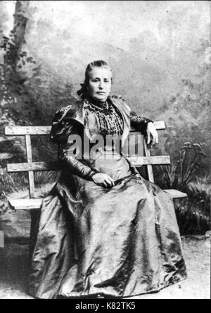 amalia freud, sigmund freud mother - Stock Photo