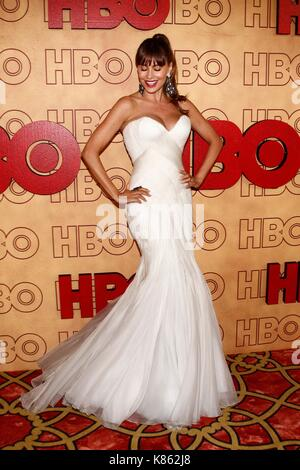 Los Angeles, CA, USA. 17th Sep, 2017. Sofia Vergara at arrivals for HBO Emmy After Party, The Pacific Design Center, - Stock Photo