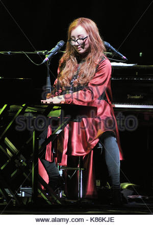 tori amos in concert, teatro degli arcimboldi, milan 2017 - Stock Photo