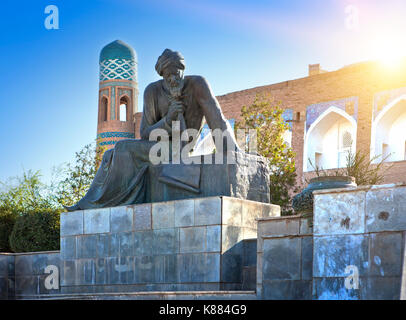 world heritage, Al-Khorezmi, Khiva, Khorezm, Region, Uzbekistan, Central Asia, Asia, architecture, city, history, - Stock Photo