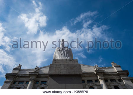 Italy, Milan, Piazza Affari - Stock Photo