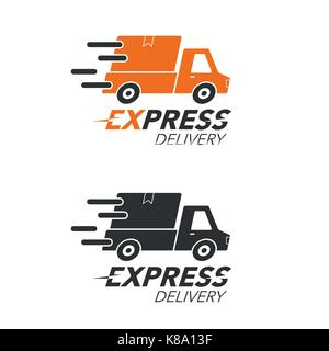 Express Delivery Icon Concept Pickup Service Order
