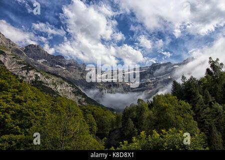 valley of gavarnie - Stock Photo