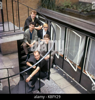 FREDDIE AND THE DREAMERS UK pop group in 1964. Photo: Tony Gale - Stock Photo