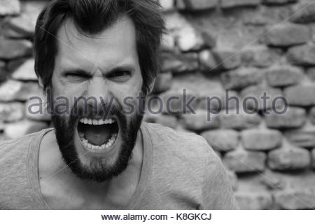 Rage and Anger - Stock Photo