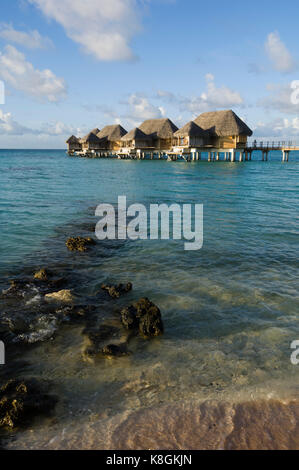 Pearl Beach Resort, Tikehau, Tuamotu Archipelago, French Polynesia - Stock Photo