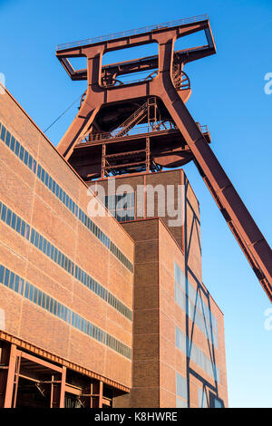 Zollverein Coillery, UNESCO world heritage site, in Essen, Germany, former coal mine, today a mixture of museum, - Stock Photo