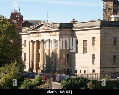 The Moot Hall, no longer the principal law court in Newcastle, but still in use for that function, north east England, - Stock Photo