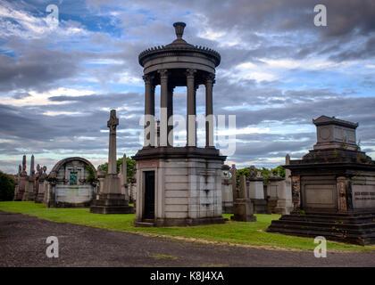 Glasgow Necropolis - Stock Photo