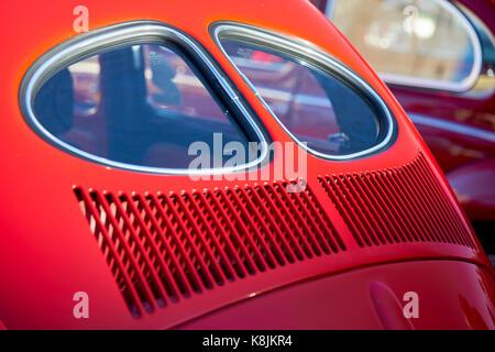 vw volkswagen beetle split rear window stock photo  alamy