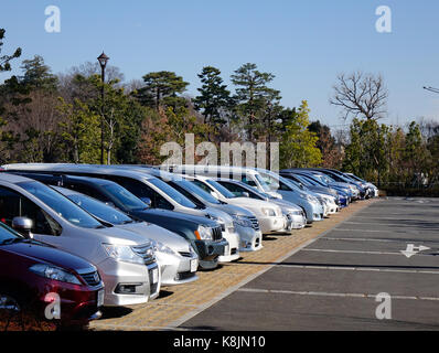 Parking Lot In Tokyo Stock Photo Royalty Free Image 81865968 Alamy