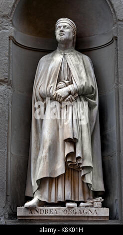Andrea di Cione di Arcangelo 1308 – 1368 better known as Orcagna, was an Italian painter, sculptor, and architect - Stock Photo