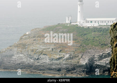 South Stack, Anglesey, North Wales - Stock Photo