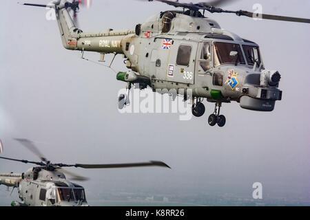Royal Navy Lynx HMA8 Helicopter