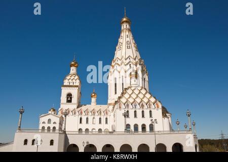 All saints church in MInsk, Belarus - Stock Photo