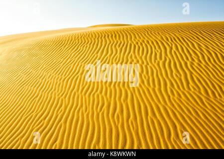 Dunes of Medanos de Coro National Park. Coro, Falcon State, Venezuela. - Stock Photo