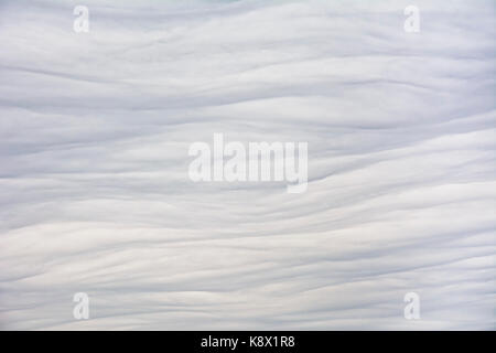 View of gray heavy woolly clouds. Background. The sky is fully overcast. - Stock Photo
