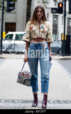 Street Style From Day Five Of London Fashion Week Spring