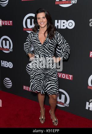 New York, NY, USA. 21st Sep, 2017. Lisa Lamattina at arrivals for BET's TALES Screening and Panel at Urbanworld - Stock Photo